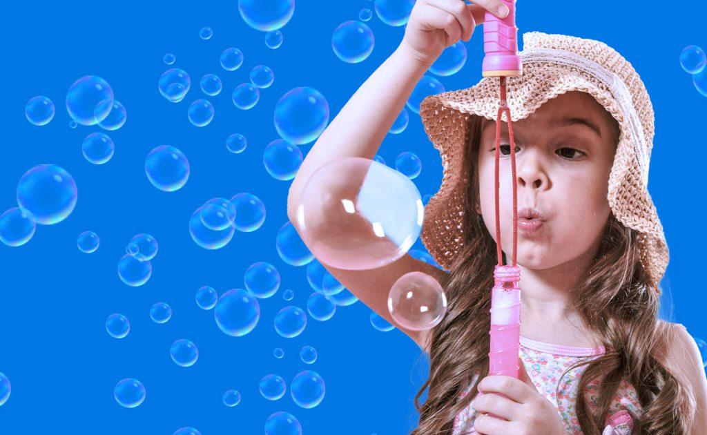 EduGrow — Шоу мыльных пузырей